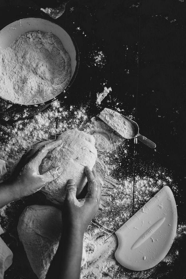 travail farine pizza italienne